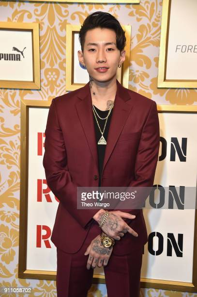 Jay Park attends Roc Nation THE BRUNCH at One World Observatory on January 27 2018 in New York City