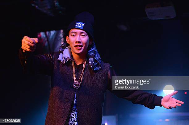 Jay Park performs during KPop Night Out on stage at Elysium on March 11 2014 in Austin United States