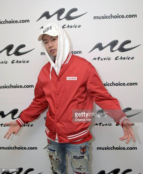 Jay Park visits Music Choice on January 26 2018 in New York City