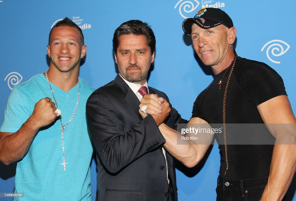 Jay Paul Molinere, Rob Marcus and R.J. Molinere attend the Time Warner Cable Media 'Cabletime' Upfront at Yotel Hotel on June 7, 2012 in New York City.