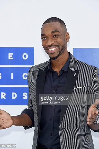 Jay Pharoah attends the 2016 MTV Video Music Awards at Madison Square Garden on August 28 2016 in New York City