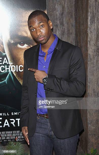 Jay Pharoah attends the 'After Earth' premiere at the Ziegfeld Theater on May 29 2013 in New York City