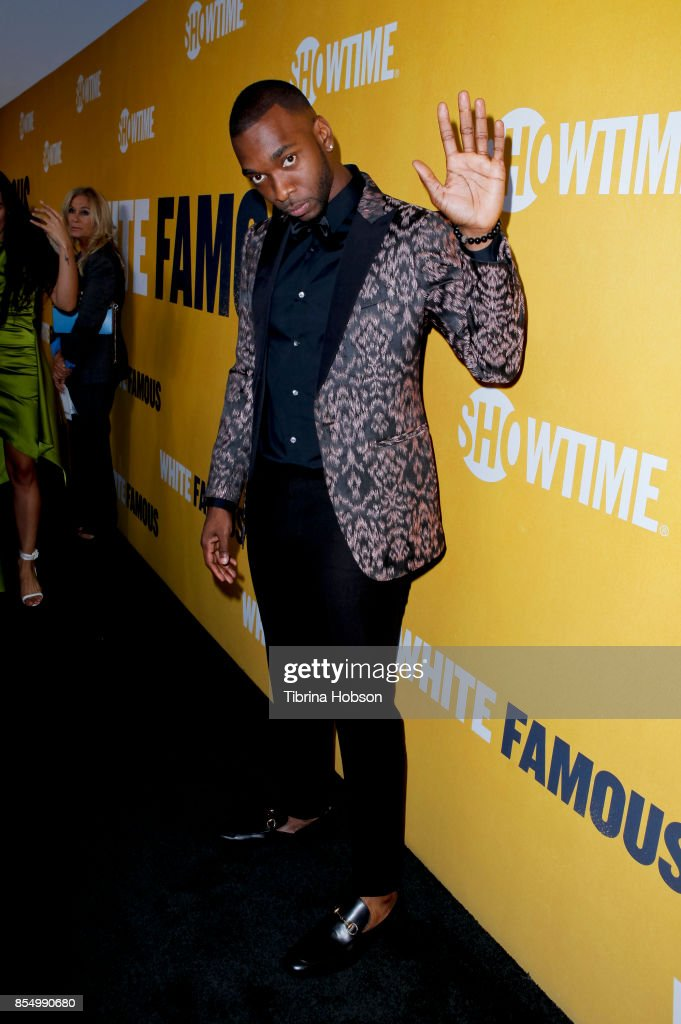 Jay Pharoah attends the premiere of Showtime's 'White Famous' at The Jeremy Hotel on September 27, 2017 in West Hollywood, California.