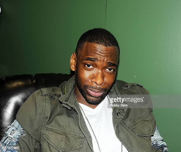 Jay Pharoah backstage at The Stress Factory Comedy Club on June 3 2016 in New Brunswick New Jersey