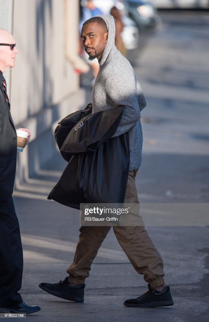 Jay Pharoah is seen at 'Jimmy Kimmel Live' on February 08, 2018 in Los Angeles, California.