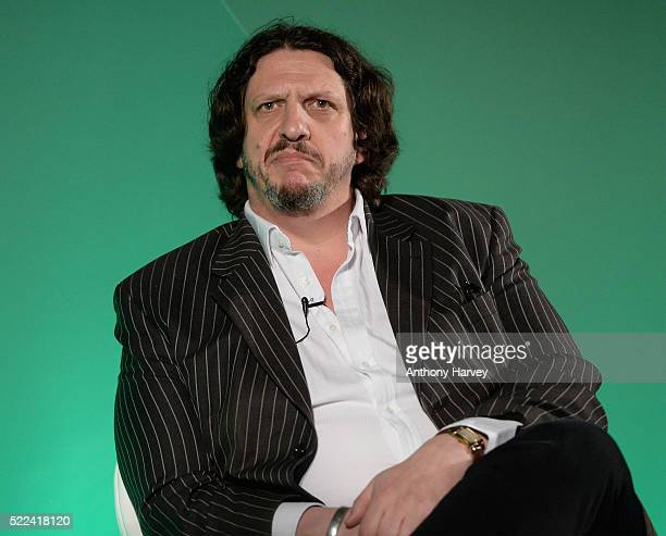 Jay Rayner Journalist Writer Broadcaster Musician during the Somethin' Else presentsWe are all critics discussion on the IPA stage at Advertising...
