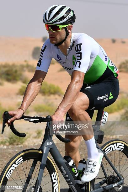 Jay Robert Thomson of South Africa and Team Dimension Data / during the 5th UAE Tour 2019 Stage 3 a 179km stage from Al Ain to Jebel Hafeet 1024m /...
