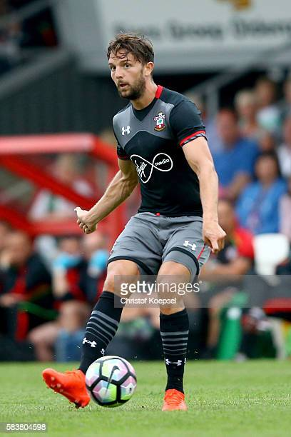 Jay Rodriguez of Southampton runs with the ball during the friendly match between Twente Enschede and FC Southampton at Q20 Stadium on July 27 2016...