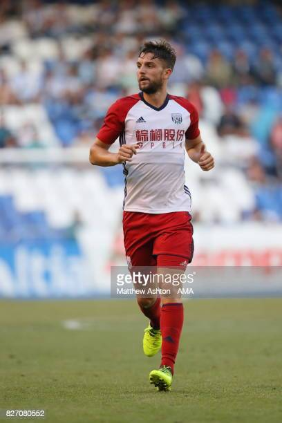 Jay Rodriguez of West Bromwich Albion during the PreSeason Friendly between Deportivo de La Coruna and West Bromwich Albion on August 5 2017 in La...