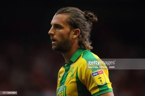 Jay Rodriguez of West Bromwich Albion during the Sky Bet Championship match between Nottingham Forest v West Bromwich Albion at City Ground on August...
