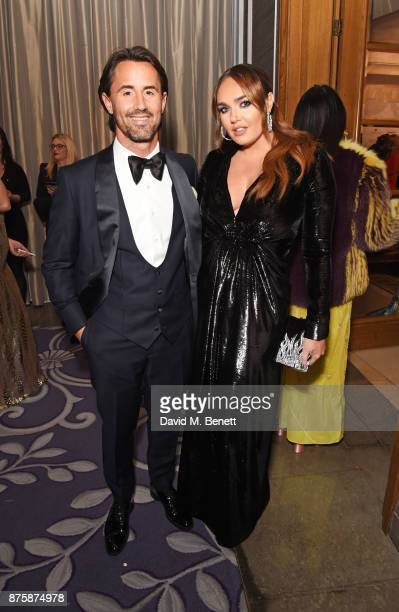 Jay Rutland and Tamara Ecclestone attend the 8th Global Gift Gala London in aid of Great Ormond Street Hospital Children's Charity at Corinthia Hotel...
