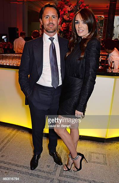 Jay Rutland and Tamara Ecclestone attend The F1 Party in aid of the Great Ormond Street Children's Hospital at the Victoria and Albert Museum on July...