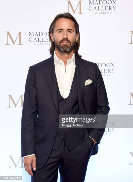 Jay Rutland attends the VIP Opening of Maddox Gallery Exhibition Best Of British at Maddox Gallery on October 11 2018 in Los Angeles California