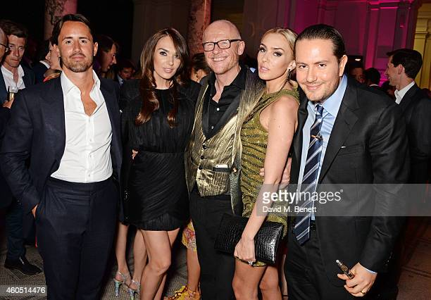 Jay Rutland Tamara Ecclestone John Caudwell Petra Stunt and James Stunt attend The F1 Party in aid of the Great Ormond Street Children's Hospital at...