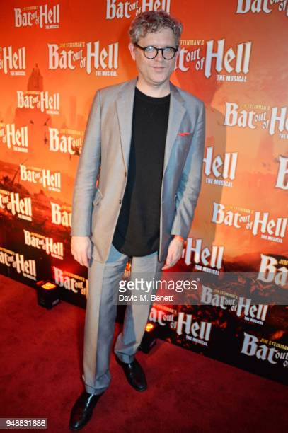Jay Scheib attends the Gala Night after party for 'Bat Out Of Hell The Musical' at the Bloomsbury Ballroom on April 19 2018 in London England