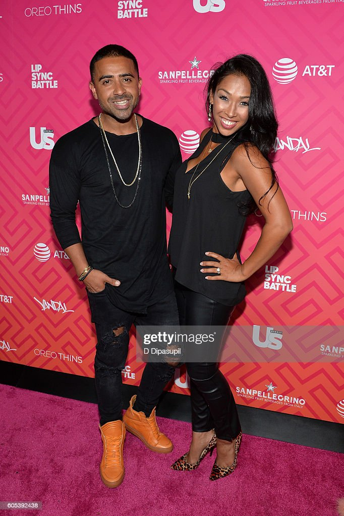 Jay Sean (L) and Thara Prashad attend Us Weekly's Most Stylish New Yorkers 2016 at Vandal on September 13, 2016 in New York City.