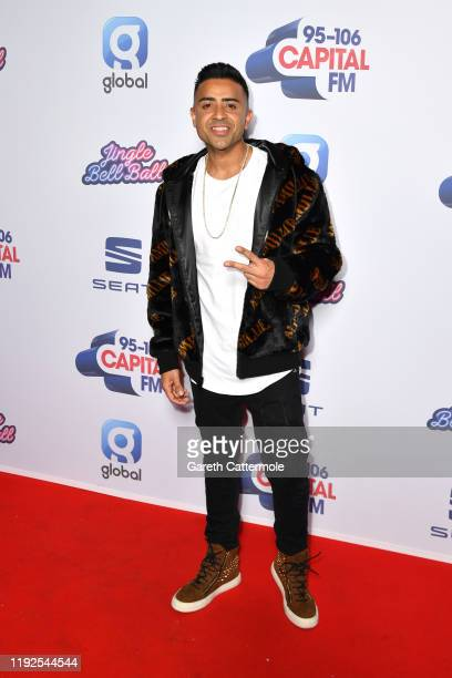 Jay Sean attends Capital's Jingle Bell Ball 2019 with SEAT at The O2 Arena on December 07 2019 in London England