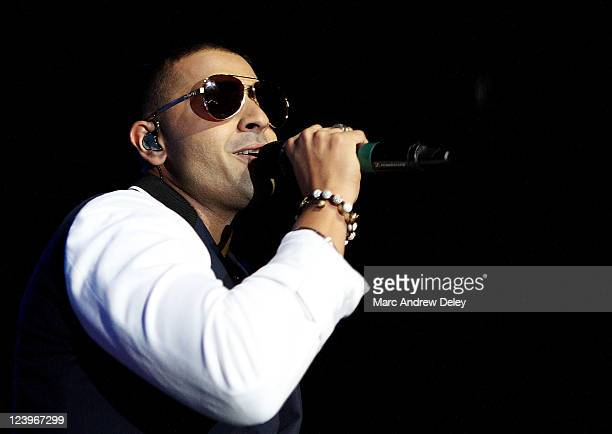 Jay Sean performs at the House of Blues on September 6 2011 in Boston Massachusetts