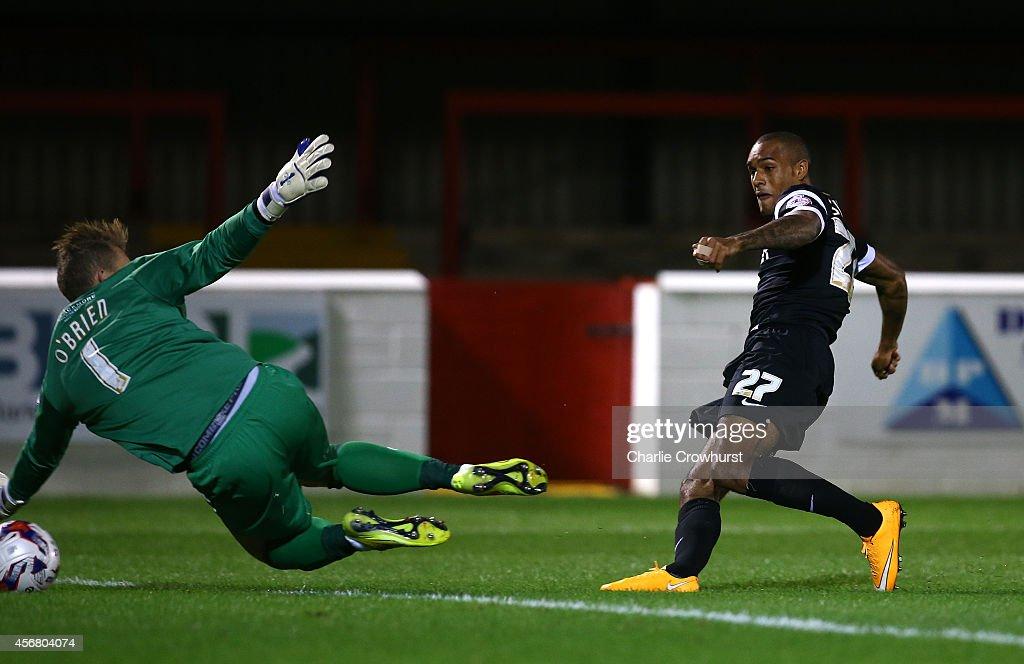 Dagenham & Redbridge v Leyton Orient -  Johnstone's Paint Trophy Southern Section Second Round : News Photo