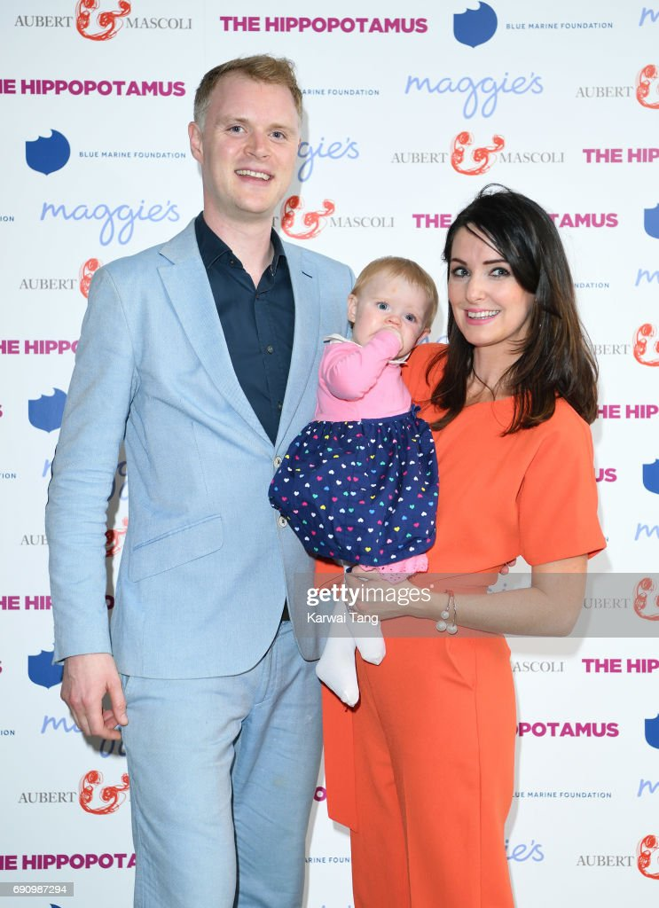 Jay Taylor (L) attends the UK gala screening of The Hippopotamus at The Mayfair Hotel on May 31, 2017 in London, England.