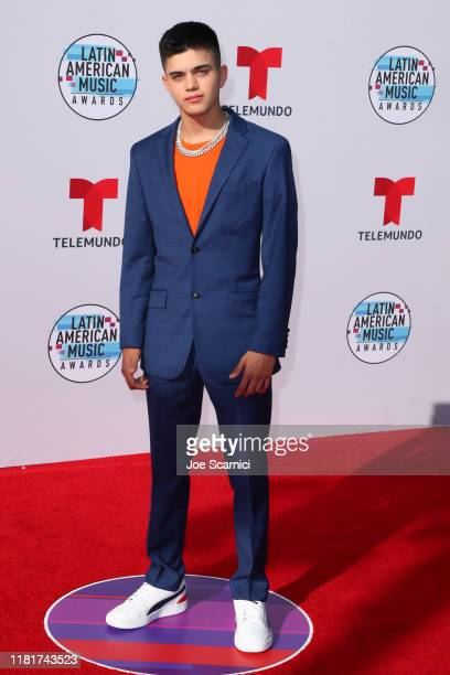 Jay Ulloa arrives at the 2019 Latin American Music Awards at Dolby Theatre on October 17 2019 in Hollywood California