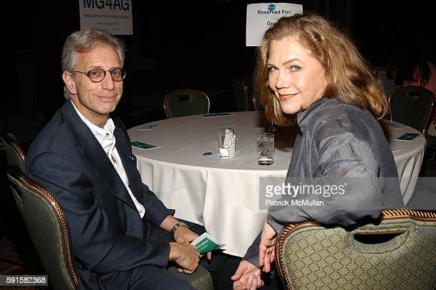 Jay Weiss and Kathleen Turner attend Cocktails in Support of Mark Green for Attorney General at Trianon Ballroom on June 13 2005 in New York City