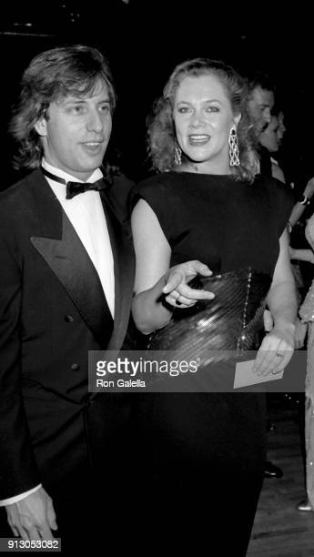Jay Weiss and Kathleen Turner attend Fourth Annual Rita Hayworth Alzheimer's Disease Benefit Gala on May 16 1988 at the Waldorf Hotel in New York City