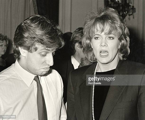 Jay Weiss and Kathleen Turner during Jujamcyn Awards November 24 1986 at St Regis Hotel in New York City New York United States