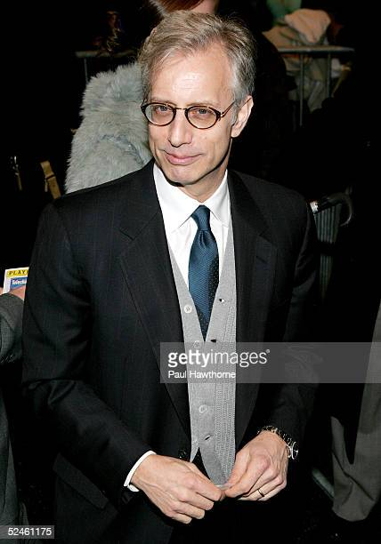 Jay Weiss husband of Kathleen Turner arrives at the opening night of Who's Afraid of Virginia Woolf at The Longacre Theater March 20 2005 in New York...