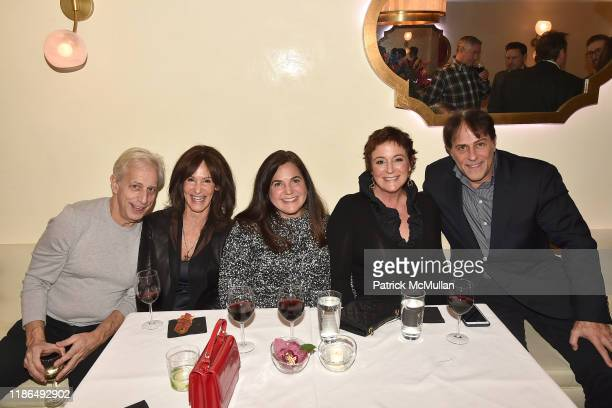 Jay Weiss Leslie Cohen Stephanie Ratner Tracy Isaacs and Adam Stobsky attend Grand Opening Of Avena UES on December 3 2019 in New York City