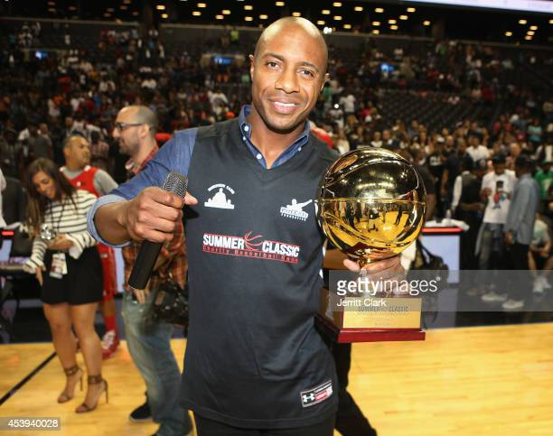 Jay Williams attends the 2014 Summer Classic Charity Basketball Game at Barclays Center on August 21 2014 in New York City