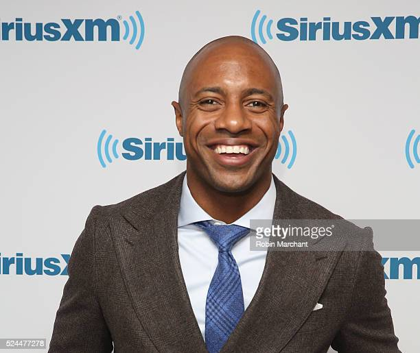Jay Williams visits at SiriusXM Studio on April 26 2016 in New York City