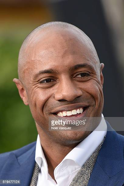 Jay Williams visits Extra at Universal Studios Hollywood on April 6 2016 in Universal City California