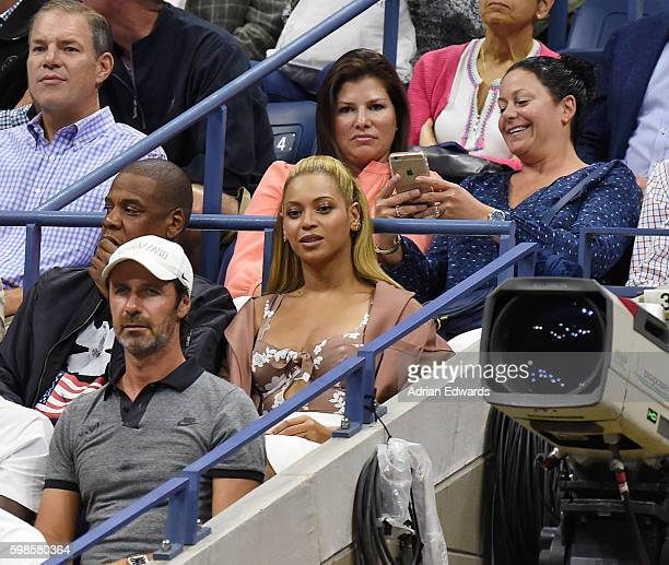 Jay Z and Beyonce attend the 2016 US Open at USTA Billie Jean King National Tennis Center on September 1 2016 in the Queens borough of New York City