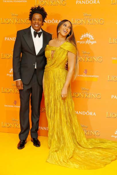 "GBR: ""The Lion King"" - European Premiere - VIP Arrivals"