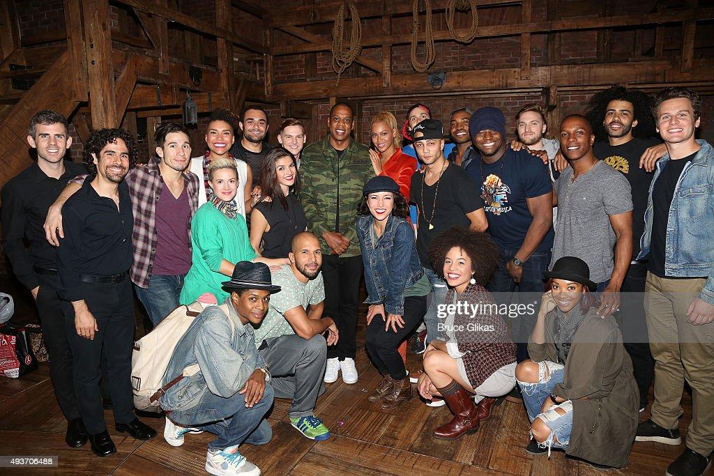 Celebrities Visit Broadway - October 21, 2015 : News Photo