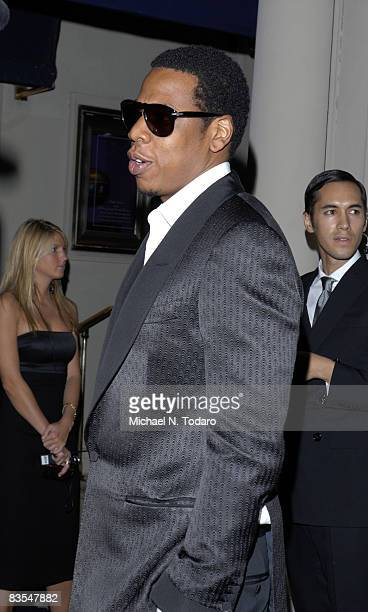 Jay Z attends the Lebron James Family Foundation Benefit for an evening of cocktails and private shopping at the Ralph Lauren Mansion on September...