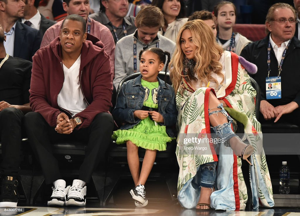 Celebrities Attend The 66th NBA All-Star Game : News Photo