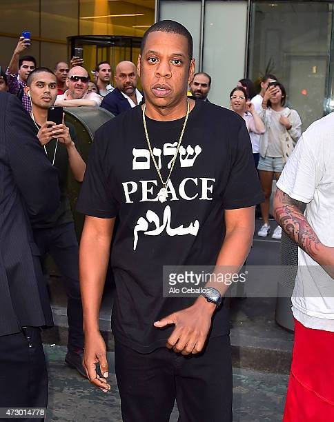 Jay Z is seen in Midtown on May 11, 2015 in New York City.