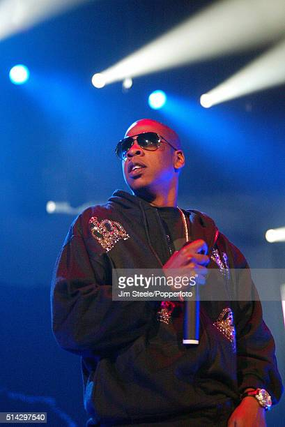 Jay Z performing at the Wembley Arena on September 24th 2006 in London, England.