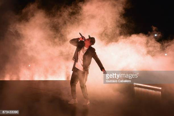 Jay Z performs at the American Airlines Arena on November 12 2017 in Miami Florida