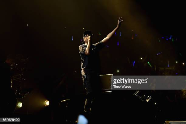 Jay Z performs onstage during TIDAL X Brooklyn at Barclays Center of Brooklyn on October 17 2017 in New York City