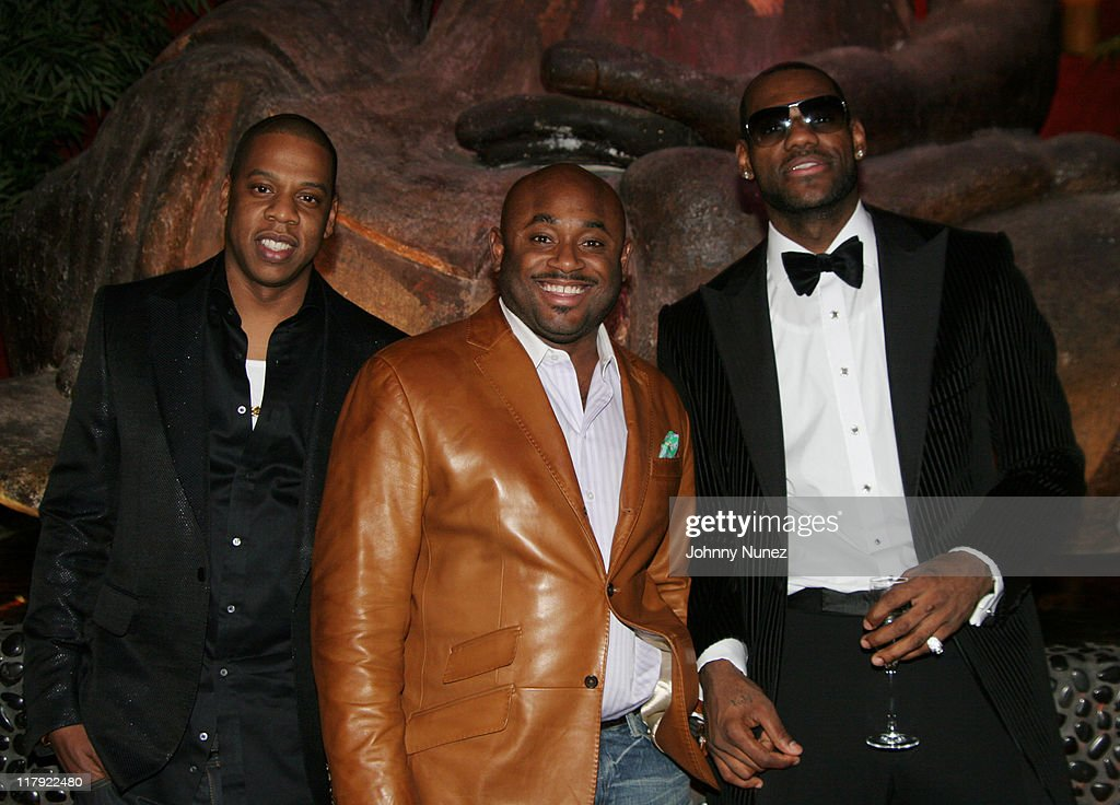 2007 NBA All-Star in Las Vegas -  Jay Z and Lebron James' First Annual Two