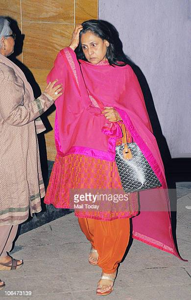 Jaya Bachchan at a special screening of the film Action Replayy in Mumbai on November 2 2010