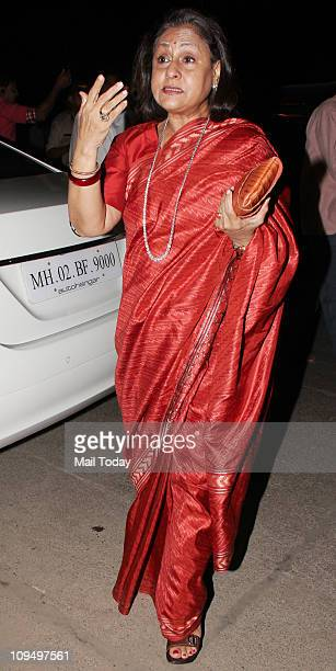 Jaya Bachchan at the launch of Suzanne Roshan's 'The Charcoal' project at Andheri Mumbai on February 272011