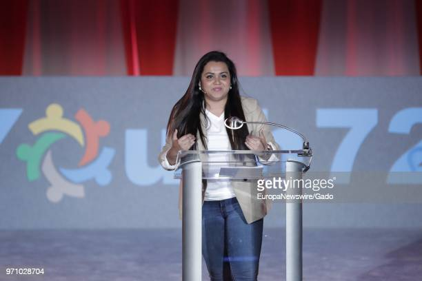 """Jayathma Wickramanayake, the Secretary General's Envoy on Youth, participates in a dialogue on the theme """"Missing Peace, the Role of Youth in..."""