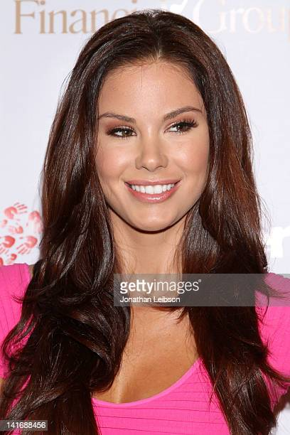 Jayde Nicole arrives to the LAFW Grand Finale Event Featuring Li Cari Autumn/Winter 2012 And Live Auction Benefiting Unlikely Heroes at The Station...
