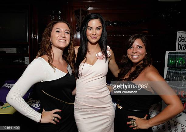 Jayde Nicole at the Melanie Segal's Celebrity SOS Lounge at House of Blues Sunset Strip on June 4 2010 in West Hollywood California