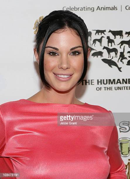 Jayde Nicole attends the art opening for Nigel Barker's A Sealed Fate at Zune LA on May 13 2009 in Los Angeles California