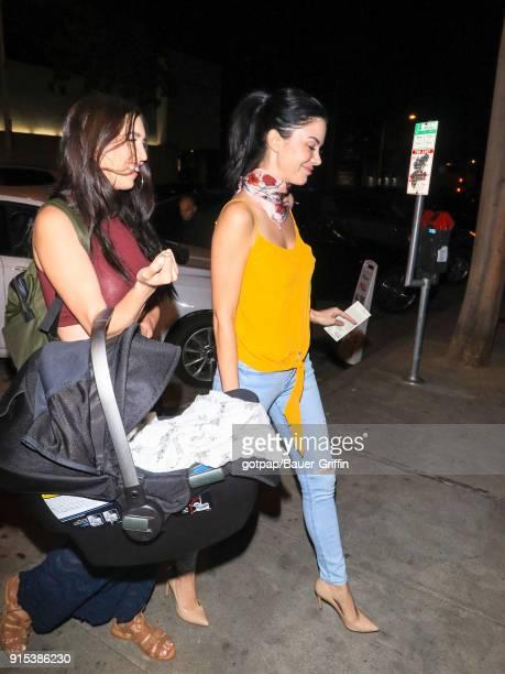 Jayde Nicole is seen on February 06 2018 in Los Angeles California